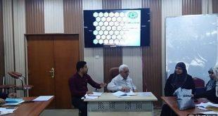 ورشة عمل حول نظام المقررات  ودور المرشد في توجيه الطالب في جامعة الكوفة