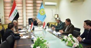 جامعة الكوفة تقيم ورشة عمل حول التحويل التنافسي  والتقديم على منحة البنك الدولي للمشاريع المقامة في الجامعات العراقية