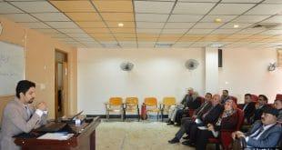 جامعة الكوفة تقيم حلقة نقاشية  حول آلية التقديم على المنحة التركية الحكومية