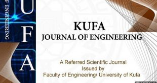 University of kufa Issue the 10th edition .second issue of Kufa Engineering journal