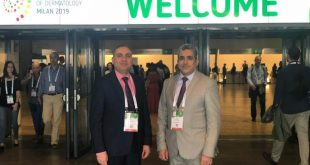 Prof. Mohsen Al-Dhlami attend a conference of dermatology held in Milan- Italy
