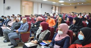A seminar on reducing traffic jams in Najaf