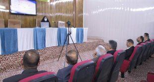 جامعة الكوفة تقيم ورشة عمل بعنوان فضاء المعاملات لسطوح ريمان