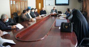 مكتب التصاريح الامنية في جامعة الكوفة يعقد ورشة عمل حول اصدار الهويات لمنتسبي الجامعة